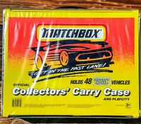 1994 Matchbox Superfast 48 Car Collectors Carry Case & Play City W/ Trays