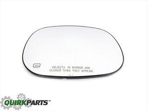 98-02 Dodge Ram W/ ELECTRIC HEATED FOLDING MIRRORS RIGHT SIDE MIRROR GLASS MOPAR