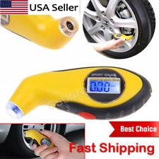 Lcd Digital Car Truck Motorcycle Tire Tyre Air Pressure Gauge Tester Tool Auto