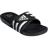Adidas Slides Mens Adissage Sandals Massage Footbed Summer Beach Pool Shoes