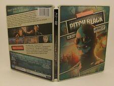 Steelbook Pitch Black (Blu-ray/Dvd, 2013, 2-Disc Set)