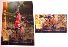 Michael Jordan 2000 UD Hologram Gold Signature 1998 JORDAN WINNING TOUCH Card #6