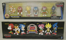Knuckles Tails Sonic Amy Super Sonic Metal Sonic PVC Figure Set W/ Box 5-6.5CM
