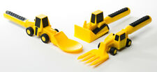 Constructive Eating Construction Utensils Cutlery Set - Aussie seller fast ship