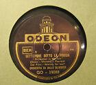Disco Grammofono 78 Giri Vintage Odeon - Settembre Sotto La pioggia - Silvester