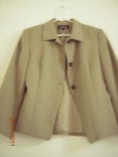Women's Tan Harold Powell Size 8 Blazer - EUC - Perfect for business world!