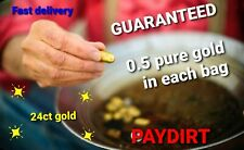 More details for 24k gold paydirt 🇬🇧 🇬🇧 🇬🇧guaranteed 0.5gram 🇬🇧 🇬🇧 🇬🇧 fine gold 999.9