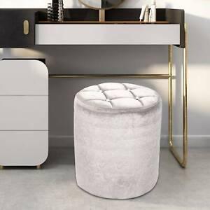 Dressing table broken velvet stool mini seat round Footrest crushed velvet