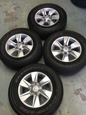 Toyota PRADO GXL 150 series Genuine alloy Wheels/ Tyre 2017-18 Update 17x7.5