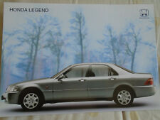 Honda Legend brochure Jul 1999 Australian market