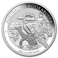 AUSTRALIE 1 Dollar Argent 1 Once Kookaburra Marque Panda 2019