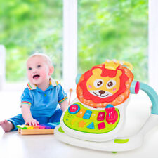 4-in-1 Baby Walker Sit-to-stand Activity Stroller Learning Toy Car Home Table