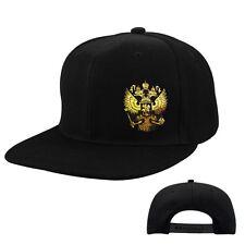 "EAKS® BASE CAP ""RUSSLAND WAPPEN"" schwarz Russia Putin Moskau Hip Hop Rap Mütze"