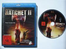 ⭐⭐  HATCHET II  ⭐⭐  Blu Ray  ⭐⭐  FSK 18 mit Wendecover  ⭐⭐ ADAM GREEN ⭐⭐