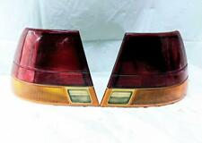 1996 1997 Saturn S Series Sedan Pair LH RH Tail Light Lamp Assemblies OEM Used