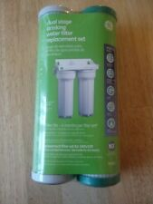 GE Dual Stage Drinking Water Filter Set FXSVC for GXSV10R
