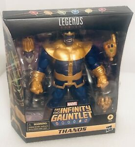 """Marvel Legends The Infinity Gaunlet THANOS 6"""" Figure Scale Deluxe Brand New"""