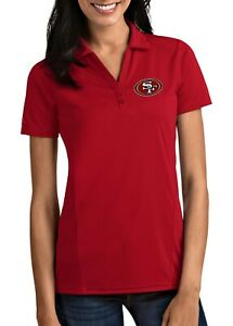 San Francisco 49ers Antigua Red Tribute Polo - NWT - FREE SHIPPING!