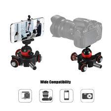 Mini Motorized Video Slider Track Dolly Rail With Ball Head for DSLR Camera B2R5