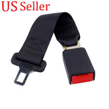 "36cm Car Seat Belt Seatbelts Extender Extension Safety Longer 7/8"" Buckle NEW"