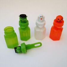 Halloween Bubbles Trick/Treat Party Favour 3pk - Ghost, Jack-o-Lantern, Monster
