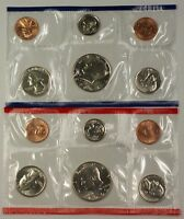 1990 P&D United States 12 Coin BU Mint Set as Issued In OGP W/ Envelope & COA