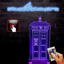 Doctor Who Dekolampe Police Box (3D-Hologramm Illusion) (NEU)