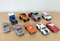Matchbox Car Bundle Vintage 70s & 80s  Die Cast Truck 4x4 Police Porche Capri