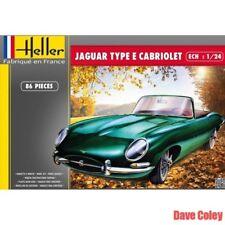 Heller 80719 1:24th escala e tipo Jaguar 3L8 OTS Cabrio Convertible