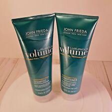 John Frieda Luxurious Full Volume Touchably Shampoo And Conditioner 8.45 FL. OZ
