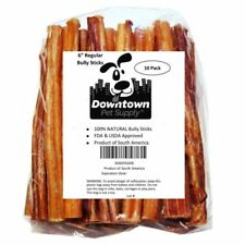 Downtown Pet Supply 6 Inch Bully Sticks Standard Regular Thick Select Dog Chew