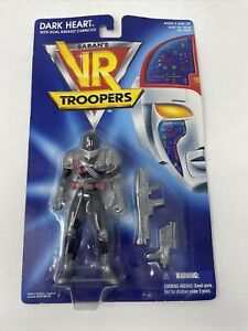 Saban's VR Troopers Dark Heart (1994) Kenner Figure w Dual Assault Cannons New