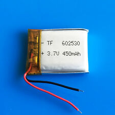 3.7v 602530 450mAh Li Po Polymer Battery For MP3 DVD GPS headphone bluetooth