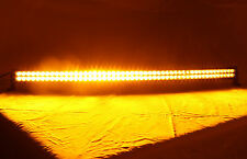 """50"""" Dual Color Amber/White Stroboflash Led Light Bar Offroad 4X4WD Truck Remote"""