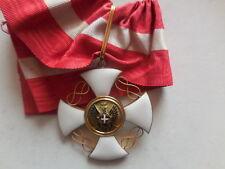 Croce da commendatore ordine della corona d'Italia oro marcata GD