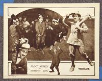 Tenderfoot Luck '22 Jimmy Aubrey Silent Comedy Lobby Card