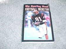 1986 NFL Football Register Media Guide Cincinnati Bengals Eddie Brown Cover