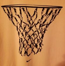 Nike PRE-OWNED Hoop Chain Size Large T-Shirt
