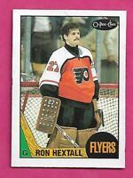 1987-88 OPC # 169 FLYERS RON HEXTALL  ROOKIE NRMT+ CARD (INV# D6238)