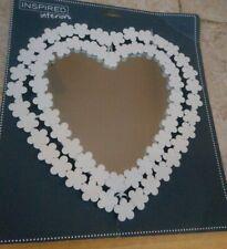 Heart Shaped Flower Mirror