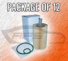 CARTRIDGE OIL FILTER L25702 FOR LEXUS LX570 TOYOTA SEQUOIA TUNDRA - CASE OF 12