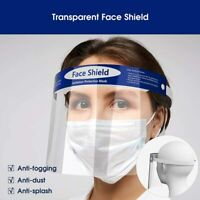 2 SETS Safety Glasses Full Face Shield Cover Anti-Splash Guard Tapabocas