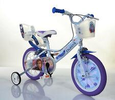 14 Zoll Kinderfahrrad Frozen Eisprinzessin Original Lizenz Kinderrad Fahrrad