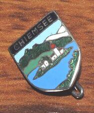 Vintage Chiemsee a Lake in Germany Souvenir Hat Pin / Brooch / Lapel / Tie Tac