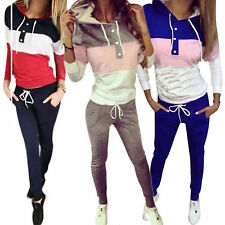 Damen Jogginganzug Sportanzug Trainingsanzug Jogginghosen Hoodies Top Hausanzug