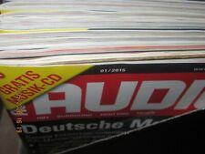 Audio  Hifi Magazin Zeitschrift ,kompletter Jahrgang 2015 Heft 1-12