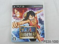 One Piece Kaizoku Musou Japanese Import Playstation 3 PS3 Pirate Warriors B/Good