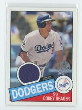 2020 Topps Series 2 Corey Seager 1985 Relic