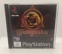 Tunguska Legend Of Faith Sony PS1 PlayStation Video Game - Complete -BLACK LABEL