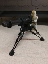 Star Wars Snowtrooper And Cannon Kenner 1997 3.75 Action Figure